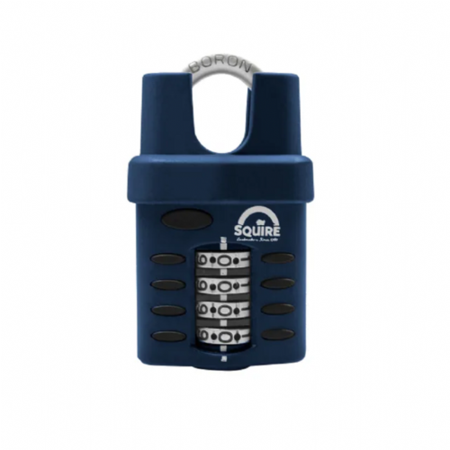Squire CP40CS Combination Padlock 4 Wheel Closed Shackle 40mm